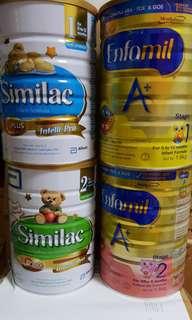 Milk Powder Abbott Similac , Mead Johnson Enfamil