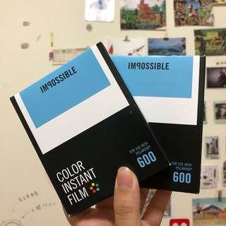 🚚 Polaroid 600底片(impossible絕版系列)
