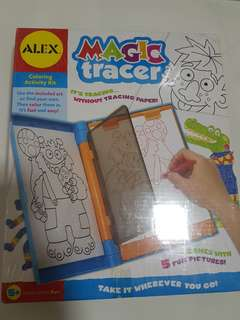 Alex toys-magic tracer for 5 years old bnib