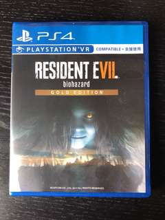PS4 Resident Evil The Gold Edition