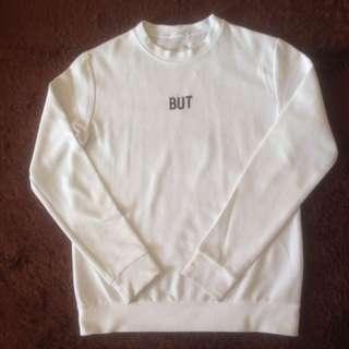 Sweater logo bordir korea