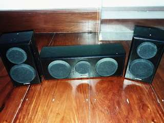 Yamaha NS-B150 and NS-C150 Speakers