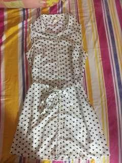 Forever 21 Heart Printed Dress