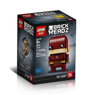 LEPIN™ 43027 Brick Headz DC The Flash