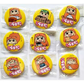 Himouto! Umaru-chan Collectible Badges– Anime