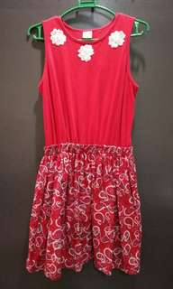 Dress for Kids (Red Motiff)