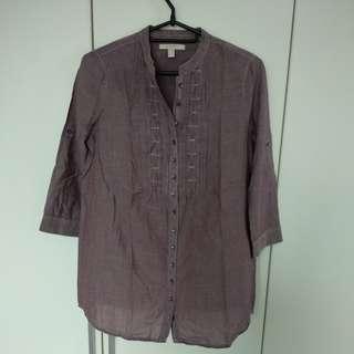 Purple blouse, Esprit