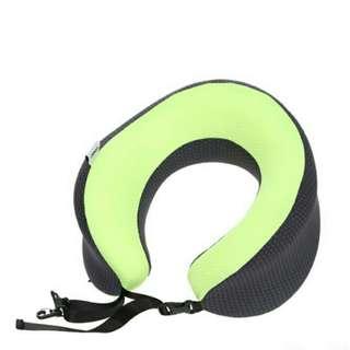 Bantal Leher U-shaped Neck Pillow Travel