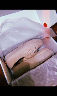Superga Baby pink shoe
