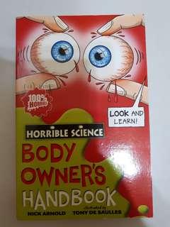 Horrible Science: Body Owner's Handbook