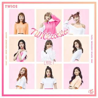 Twice Twicecoaster Lane 1 album WTS