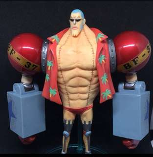 Franky One Piece Bandai Vintage 2012 Brand New without box