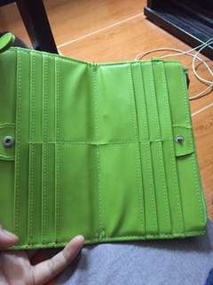 Long wallet plus card holder