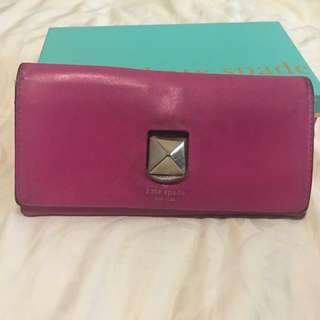 Preloved Kate Spade wallet (jual murah)