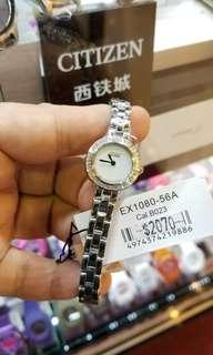CITIZEN 小小系列 光動能手錶...75折售