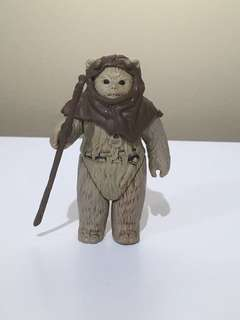 Star Wars Vintedge Ewok collectible action figures