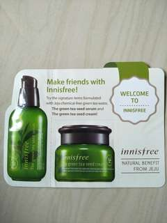 Innisfree Green Tea Seed Serum Sample Size