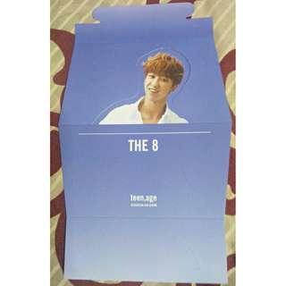 Seventeen The8 Teen, Age Official standee