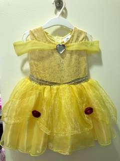 Authentic Disneyland Princess Belle Dress