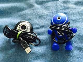 🚚 Almost New Webcam Vimicro / Skype Buddy Webcams