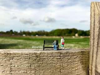 Miniature Figurine each Human - Terrarium (special offer)