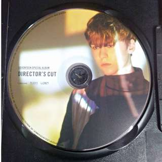 Seventeen Vernon Thanks CD Plate