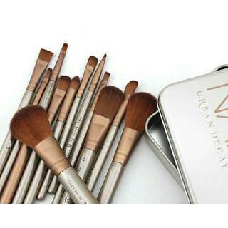 12pcs. Naked3 Professional Make Up Brush Set