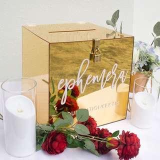 Customise Wedding Wishing Box/ Ang Bao Box