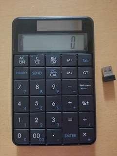 計數機,可連電腦直接輸入