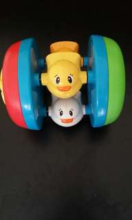 Branded baby crawling toy