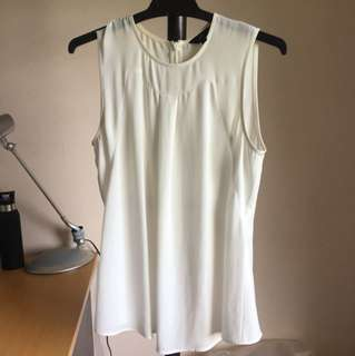 Cue white blouse