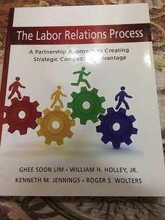 The labour relations process