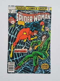 Marvel Comics Spider-Woman 5 Near Mint Condition Bronze Age