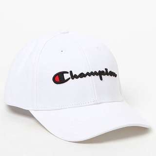 Champion White Cap
