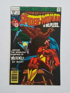 Marvel Comics Spider-Woman 6 Near Mint Condition Bronze Age