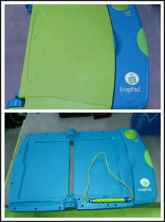 Leapfrog leap pad learning system.