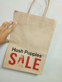 Paper bag HUSH PUPPIES