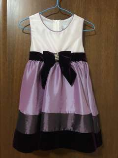 toddler purple party dress for 2 years old