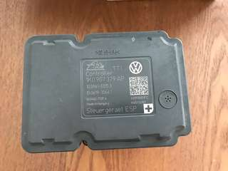 Faulty VW anti brake system ABS unit