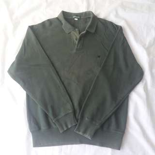 GIORDANO Collared Long Sleeves
