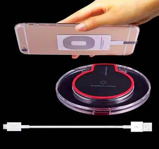 Wireless Charger Set for iPhone (Make it HiTech. Make it Wireless)