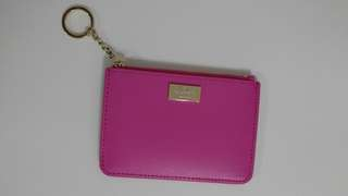 BNWT Kate spade pink card holder