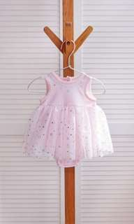 bb 粉色星星蓬蓬裙 b0001