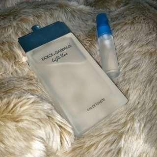 Guaranteed LONG LASTING D&G Light Blue Women 10ml