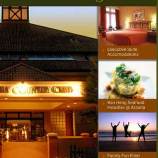 Aranda country club membership (pasir ris) $48/mth for family. Free gym and parking