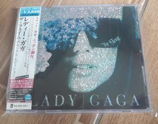 Lady Gaga The Fame Japan CD Album