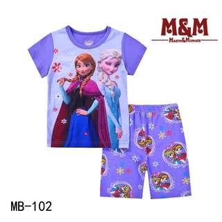 M & M (Caluby) Short Set