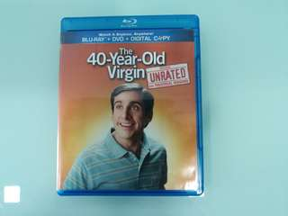40 Year Old Virgin Blu Ray