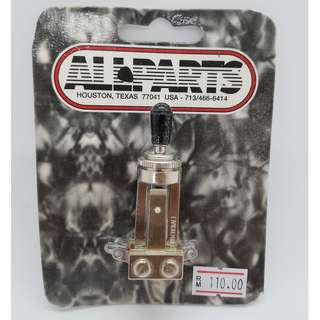 Switchcraft Straight Toggle Switch (by Allparts)