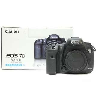 Canon EOS 7D Mark II DSLR Body Only